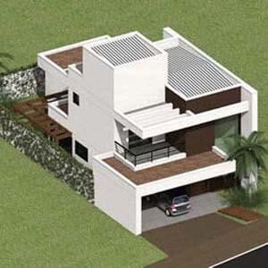 Projeto de Residencias em Alvenaria Estrutural - 2